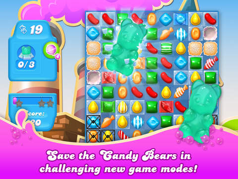 Candy Crush Soda Saga - Screen 1