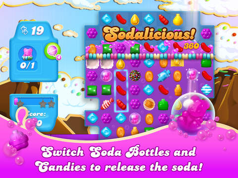 Candy Crush Soda Saga - Screen 2