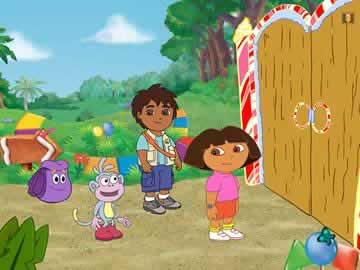 Candy Land: Dora the Explorer Edition - Screen 2
