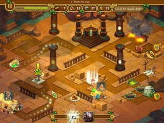 Chase for Adventure: The Lost City - Screen 2