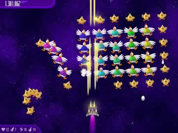 Chicken Invaders 4: Ultimate Omelette - Screen 1