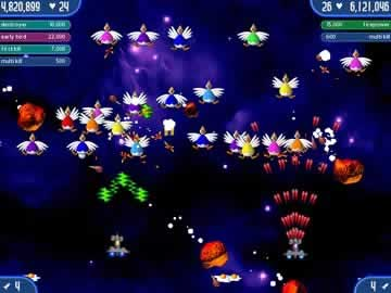 Chicken Invaders 2 - Screen 1
