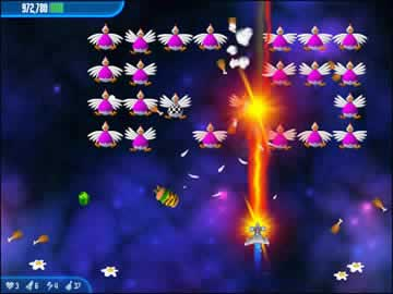 Chicken Invaders - Screen 2