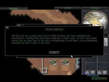Command and Conquer Gold - Screen 2