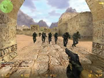 Counter Strike v1.6 - Screen 1