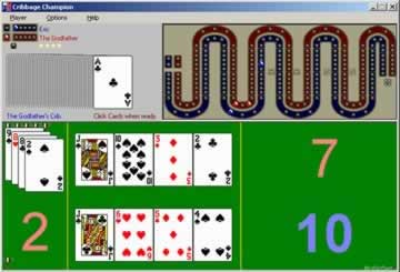 Cribbage Champion - Screen 1