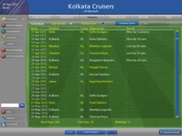 Cricket Coach 2011 - Screen 1