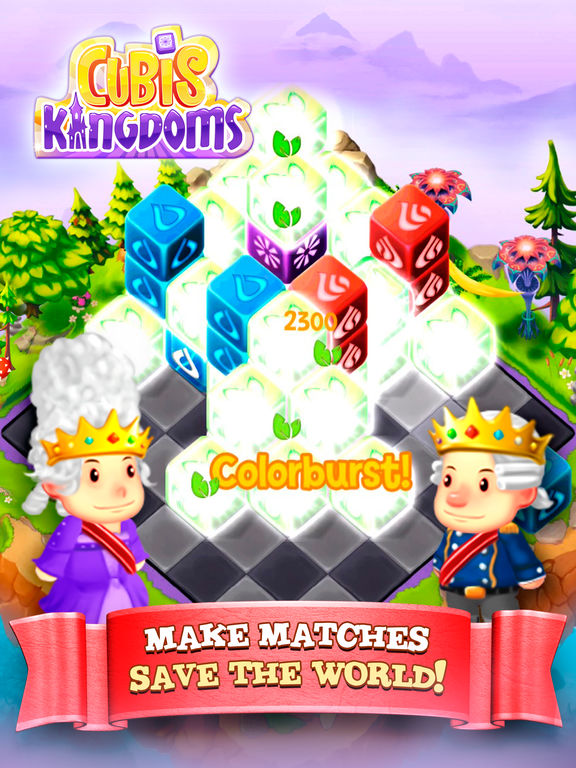 Cubis Kingdoms - Screen 1