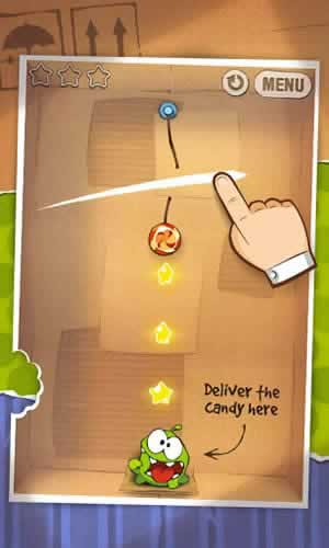 Cut the Rope Free - Screen 1