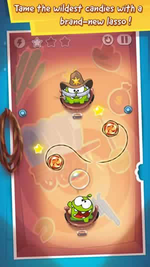 Cut the Rope: Time Travel - Screen 1