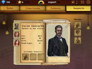 Detective Investigations - Screen 2