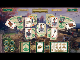 Detective notes - Lighthouse Mystery Solitaire - Screen 1