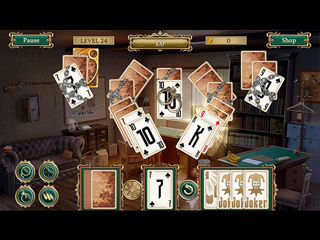 Detective notes - Lighthouse Mystery Solitaire - Screen 2