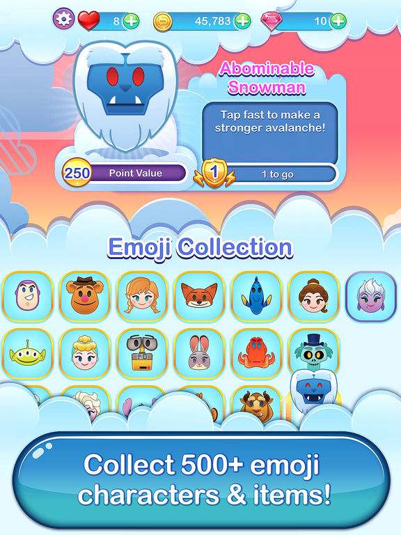 Disney Emoji Blitz - Screen 1