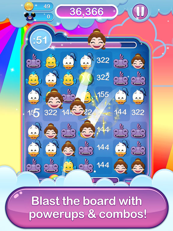 Disney Emoji Blitz - Screen 2