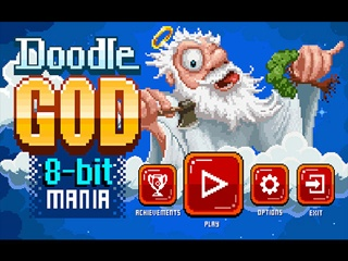 Doogle God: 8-Bit Mania - Screen 1