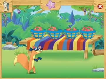 Dora the Explorer: Swiper's Big Adventure! - Screen 1