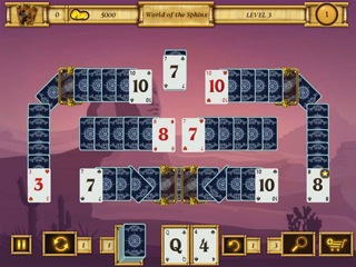 Egypt Solitaire - Match 2 Cards - Screen 1