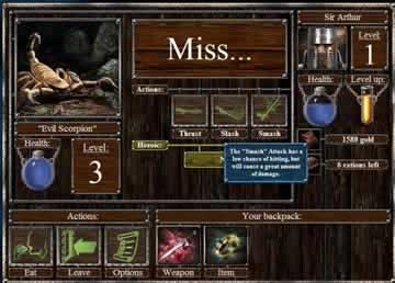 Empires & Dungeons - Screen 2