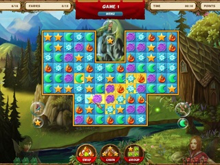 Fairy Quest Match 3 Double Pack - Screen 2