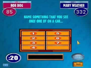 Family Feud Online Party - Screen 1