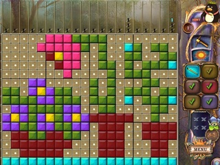 Fantasy Mosaics 20: Castle of Puzzles - Screen 1