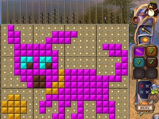 Fantasy Mosaics 20: Castle of Puzzles - Screen 2