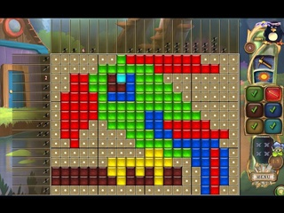 Fantasy Mosaics 28: Treasure Map - Screen 1