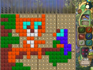 Fantasy Mosaics 33: Inventor's Workshop - Screen 2