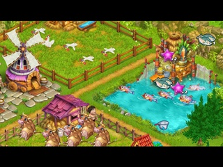 Farm Tribe - Dragon Island - Screen 1