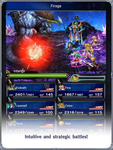 Final Fantasy Brave Exvius - Screen 1