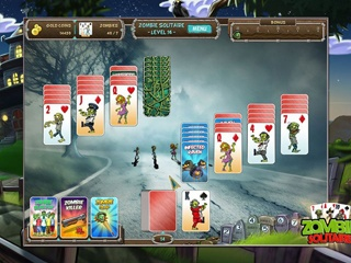 Fish vs Zombies Solitaire Double Pack - Screen 1