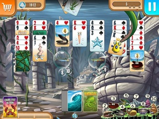 Fish vs Zombies Solitaire Double Pack - Screen 2