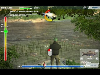 3D Fishing - Screen 1