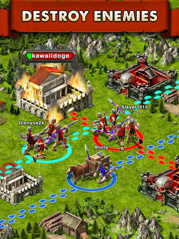 Game of War: Fire Age - Screen 1