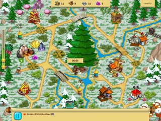 Gnomes Garden - Christmas Story - Screen 1