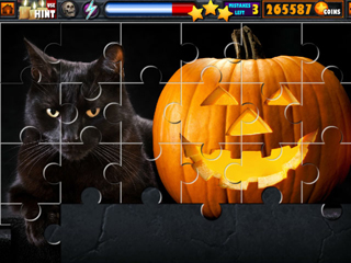 Halloween Jigsaw Puzzle Stash - Screen 1