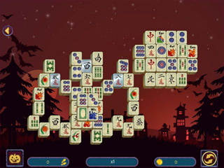 Halloween Night Mahjong 2 - Screen 1