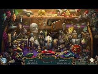 Haunted Legends: The Call of Despair Collector's Edition - Screen 1