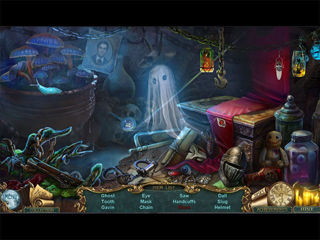 Haunted Legends: The Secret of Life Collector's Edition - Screen 1