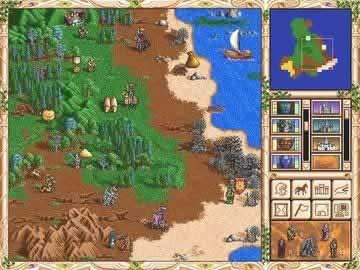 Heroes of Might and Magic II Gold - Screen 1