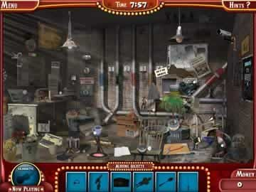 The Hidden Object Show - Screen 1