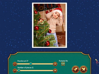Holiday Jigsaw Christmas 3 - Screen 1