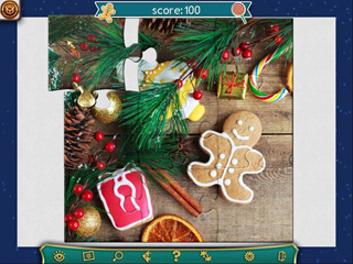 Holiday Jigsaw Christmas 3 - Screen 2