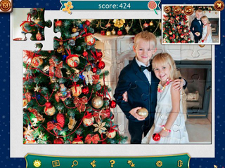 Holiday Jigsaw Christmas 4 - Screen 2