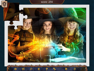 Holiday Jigsaw Halloween 4 - Screen 2