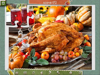 Holiday Jigsaw Thanksgiving Day 2 - Screen 1