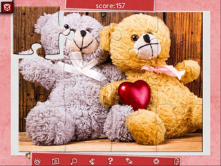 Holiday Jigsaw - Valentine's Day 3 - Screen 1