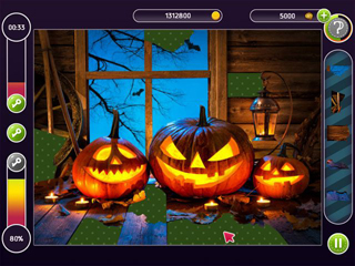 Holiday Mosaics - Halloween Puzzles - Screen 1