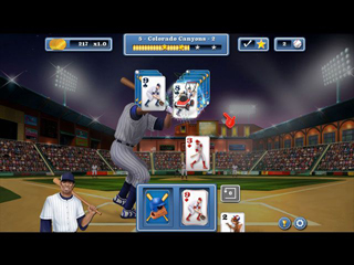 Home Run Solitaire - Screen 1